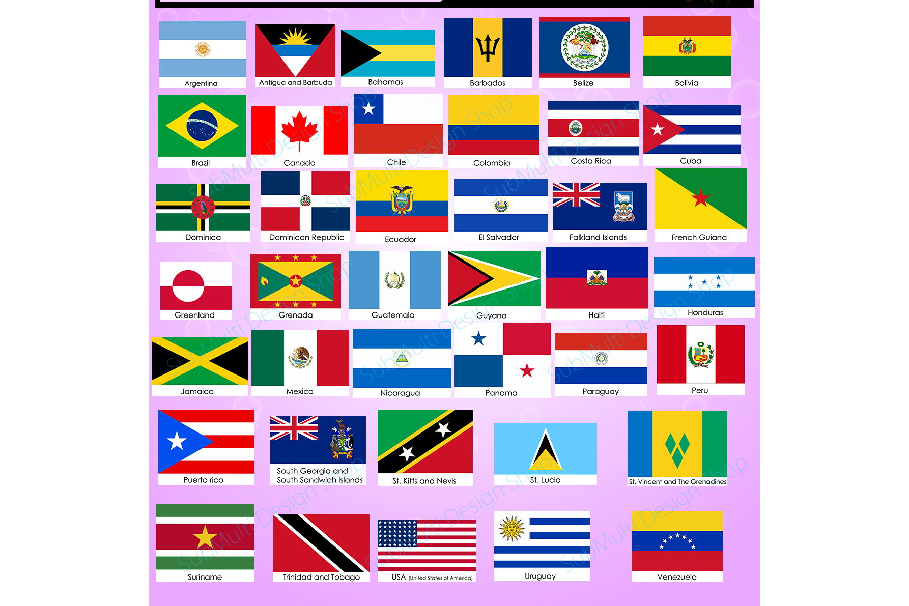 photo relating to Printable Country Flags called American nations around the world American place Flags state flag Large Good quality Vector flags electronic flag printable flag Collage Sheets