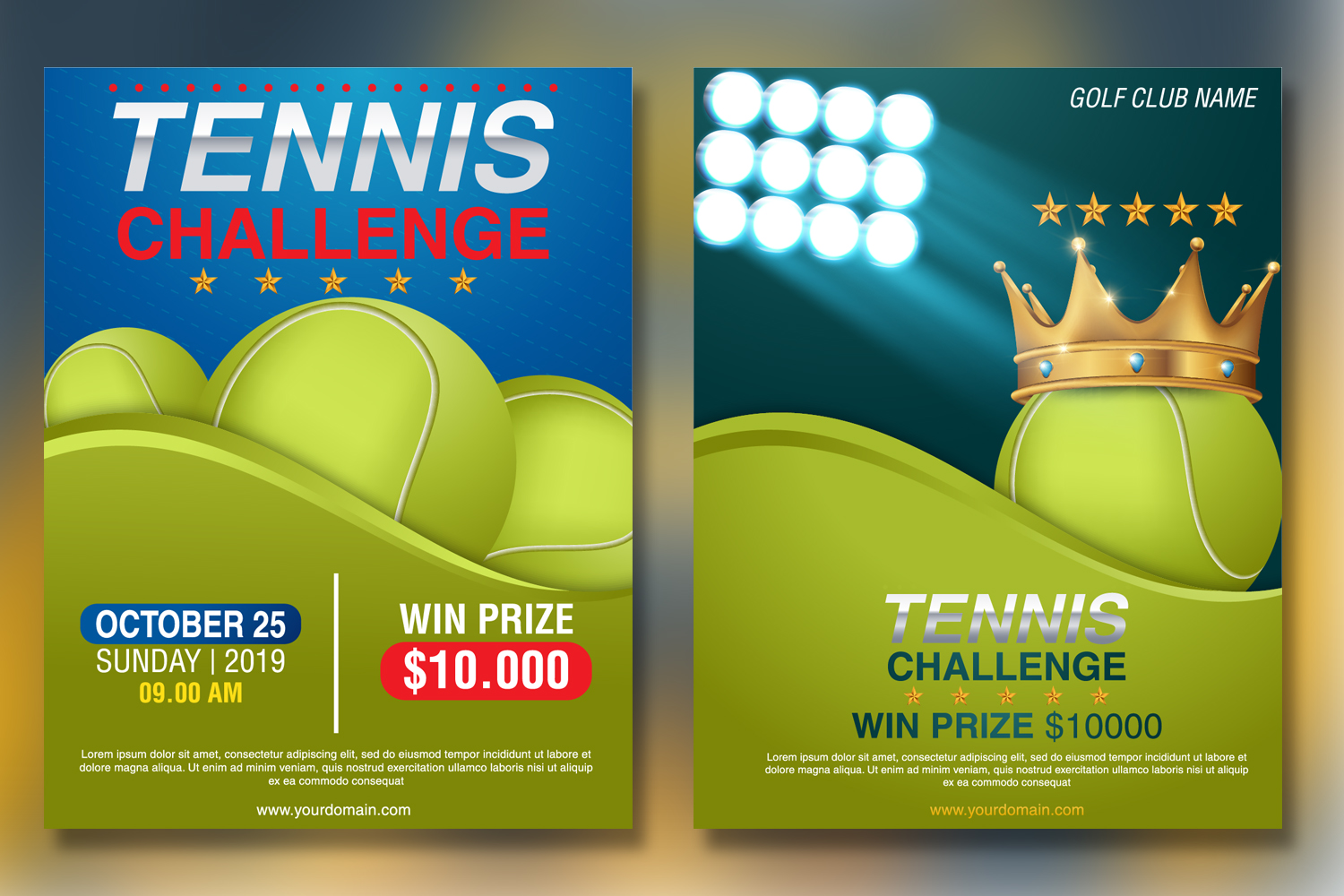 Tennis Tournament Flyer Template example image 2