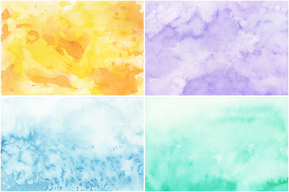 50 Watercolor Backgrounds 02 example image 11