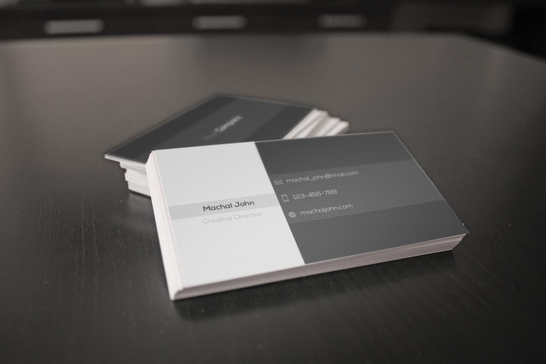 Minimal Buisness Card example image 2