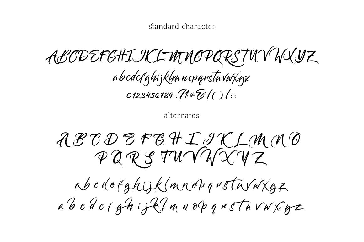 Bantham Typeface example image 8