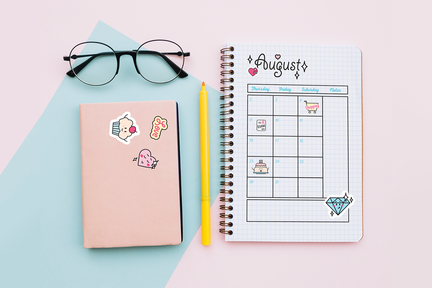 Cute Planner Stickers example image 4