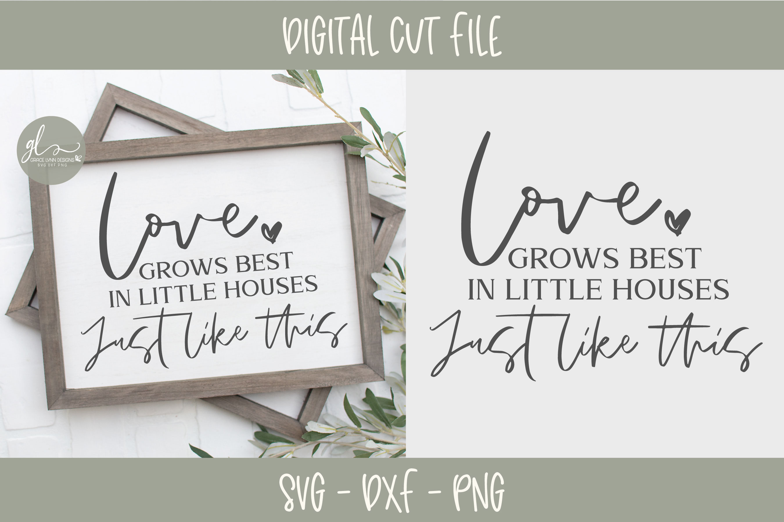 Home & Family Bundle - 10 Designs - SVG, DXF & PNG example image 11