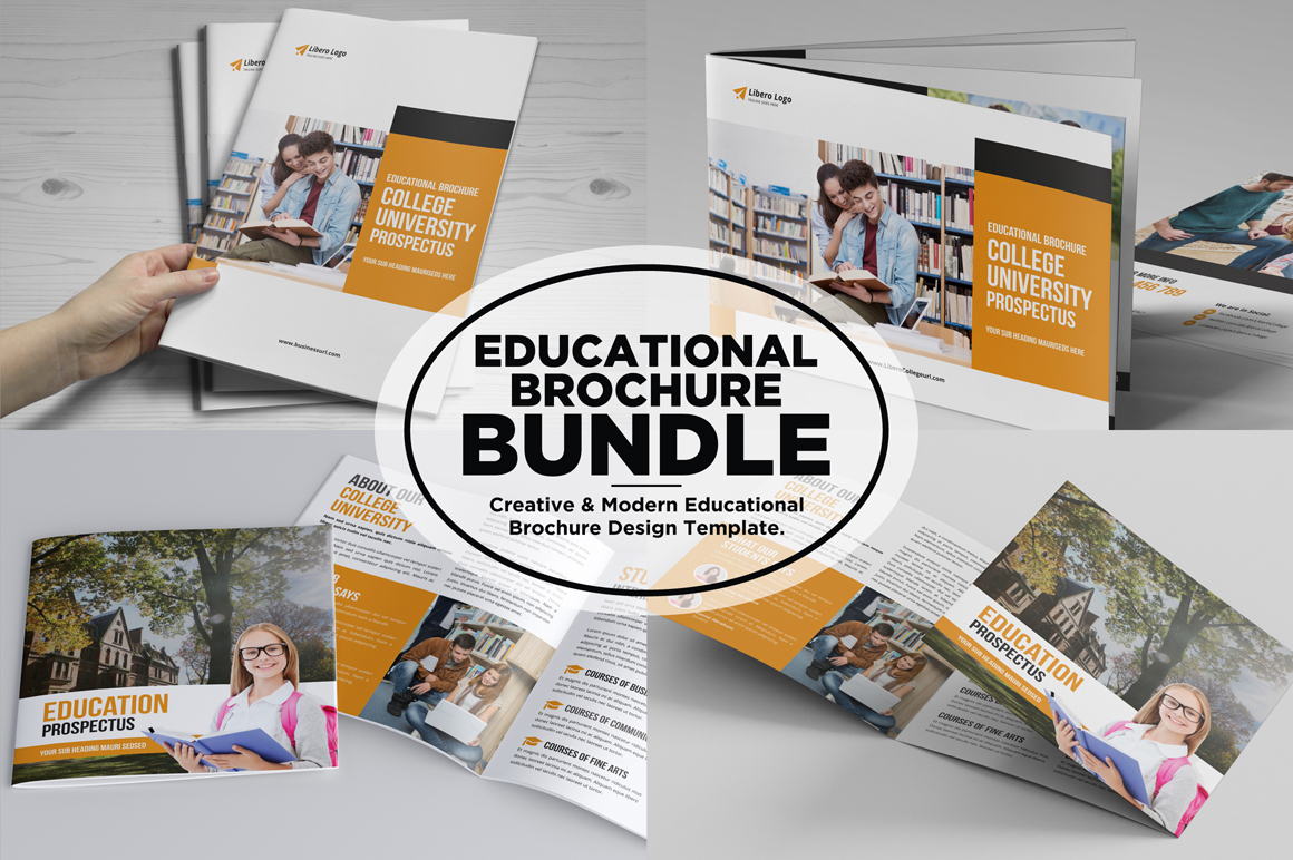 Education Prospectus Brochure Bundle example image 1
