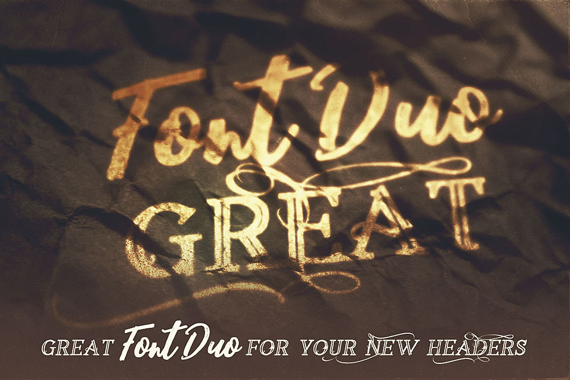Lovesurely Font Duo example image 4