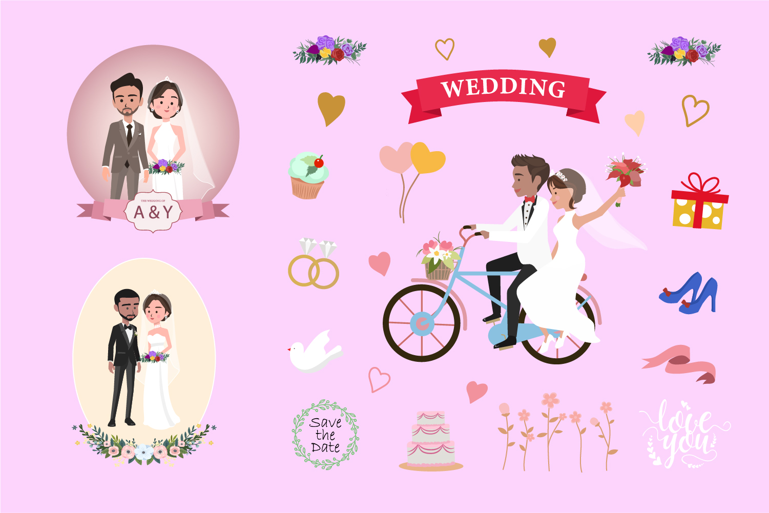 Wedding Avatar Collection example image 2