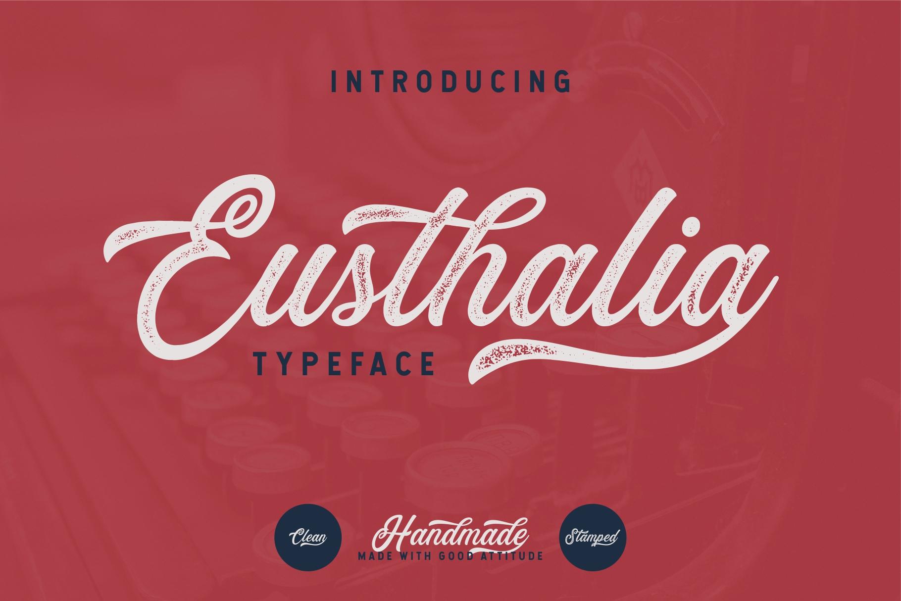 Eusthalia Typeface example image 1