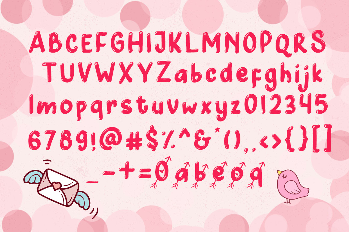 Cupid Love - A Lovely Typeface example image 3