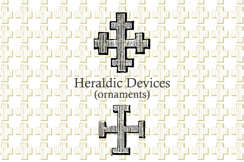 Heraldic Devices Premium   example image 5