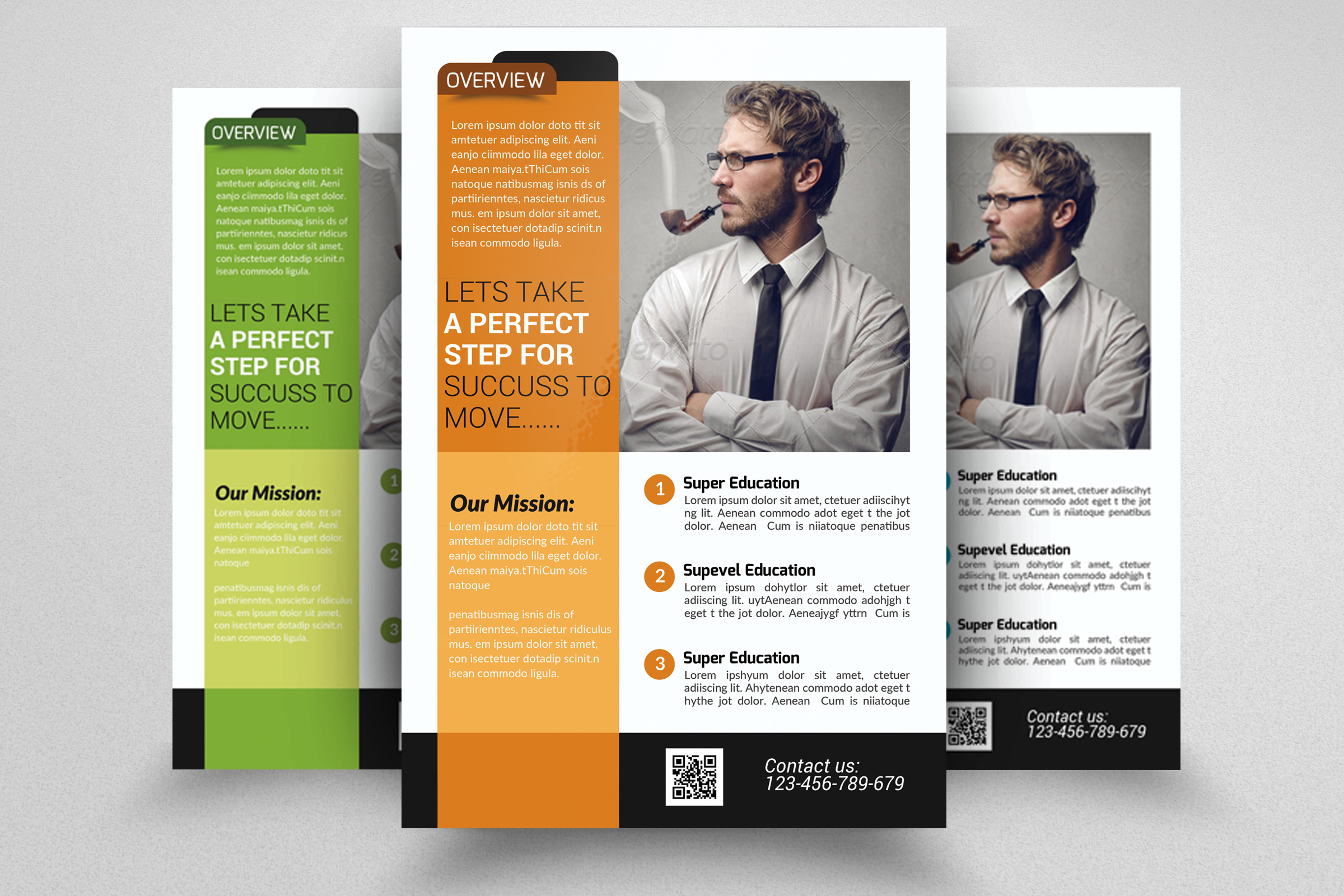 Business Advisor flyer Psd example image 1