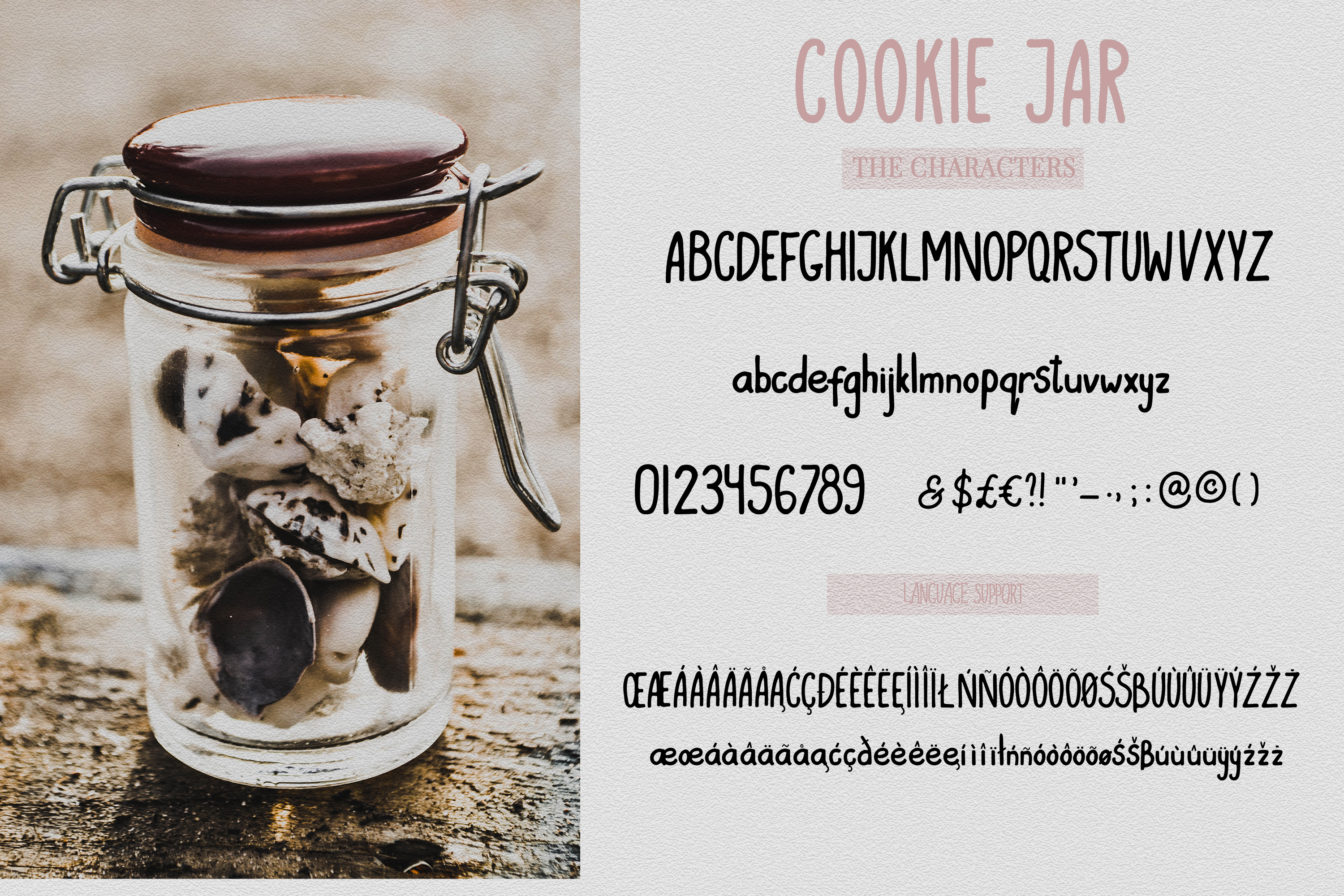 Cookie Jar font example image 2