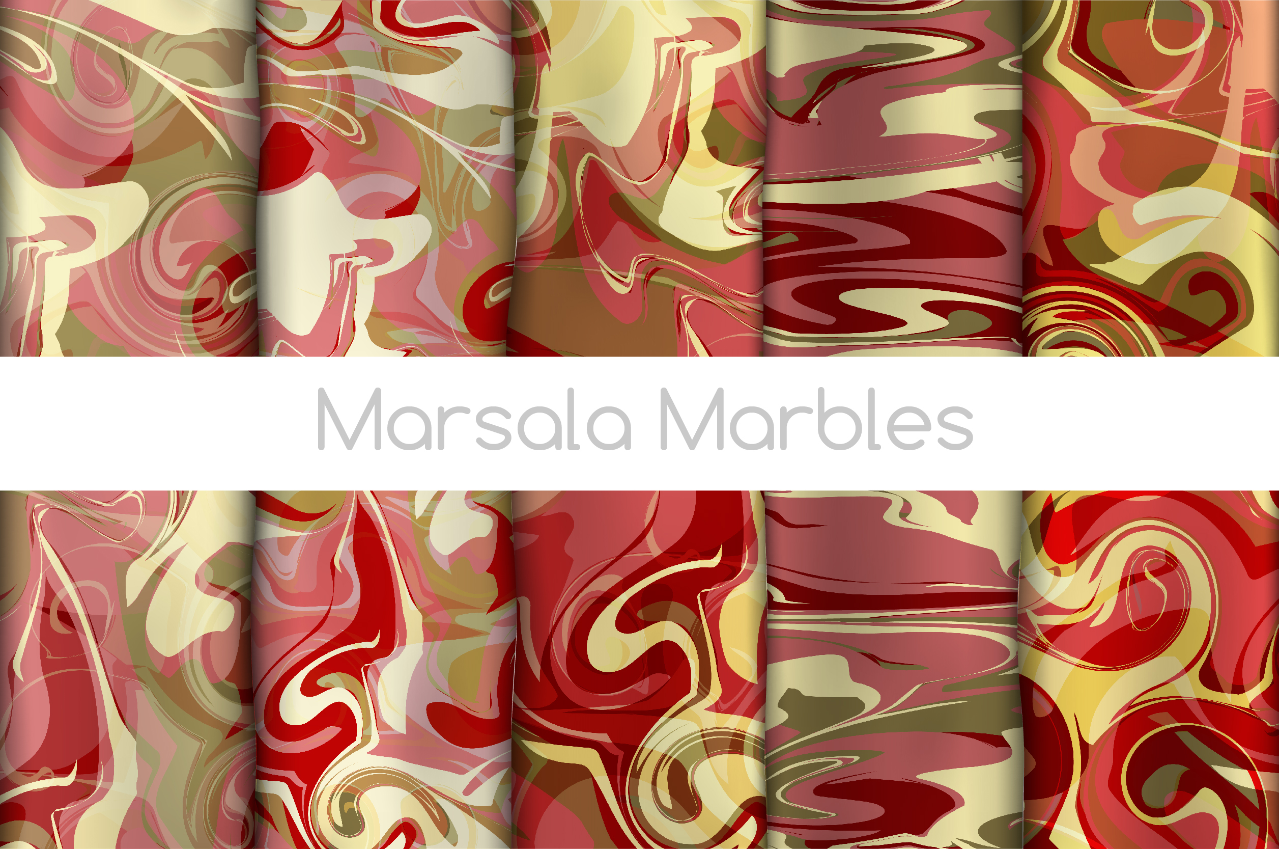 The BIGGEST Marbled Paper Collection example image 3