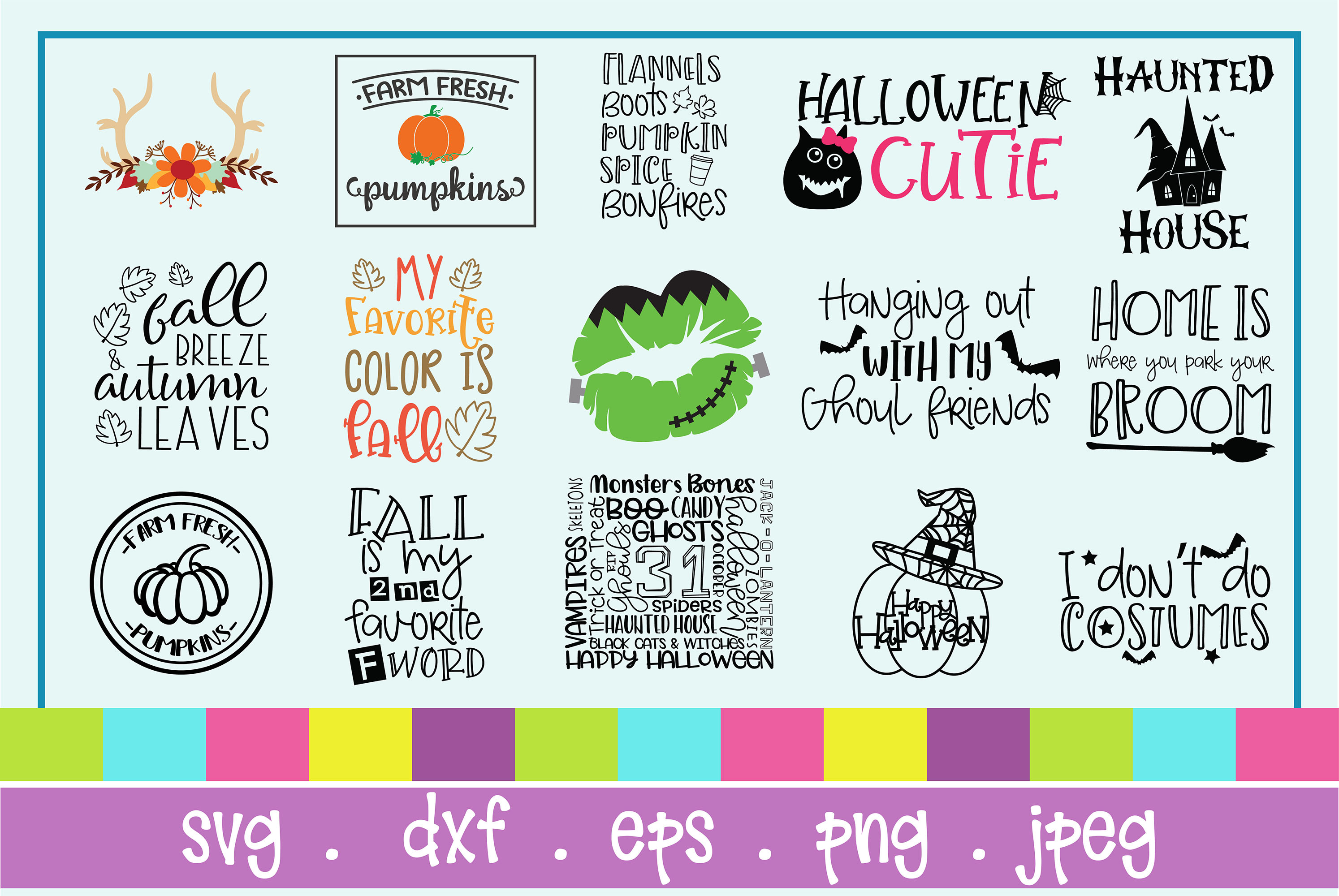 The Huge SVG Bundle Vol 2, 500 Cutting files, SVG, DXF,PNG example image 18