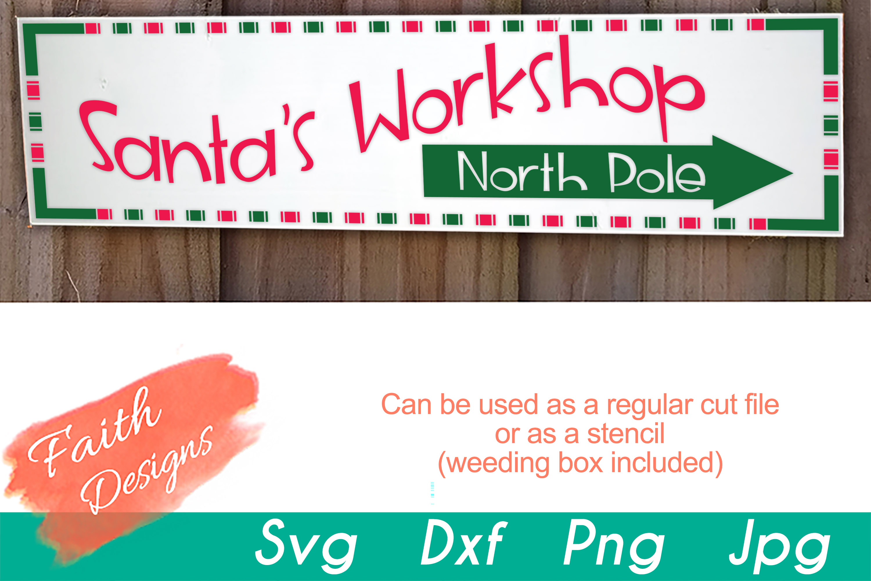 Christmas Porch Sign Bundle example image 12