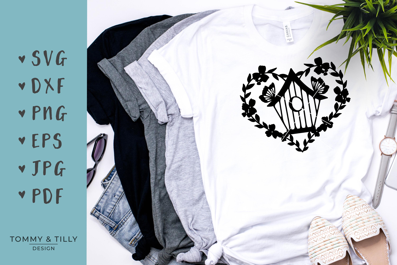 30 Designs! Romantic Hearts Bundle- SVG EPS DXF PNG PDF example image 5