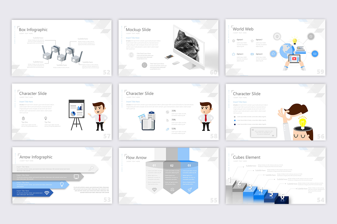 Exclusive Powerpoint Template example image 6