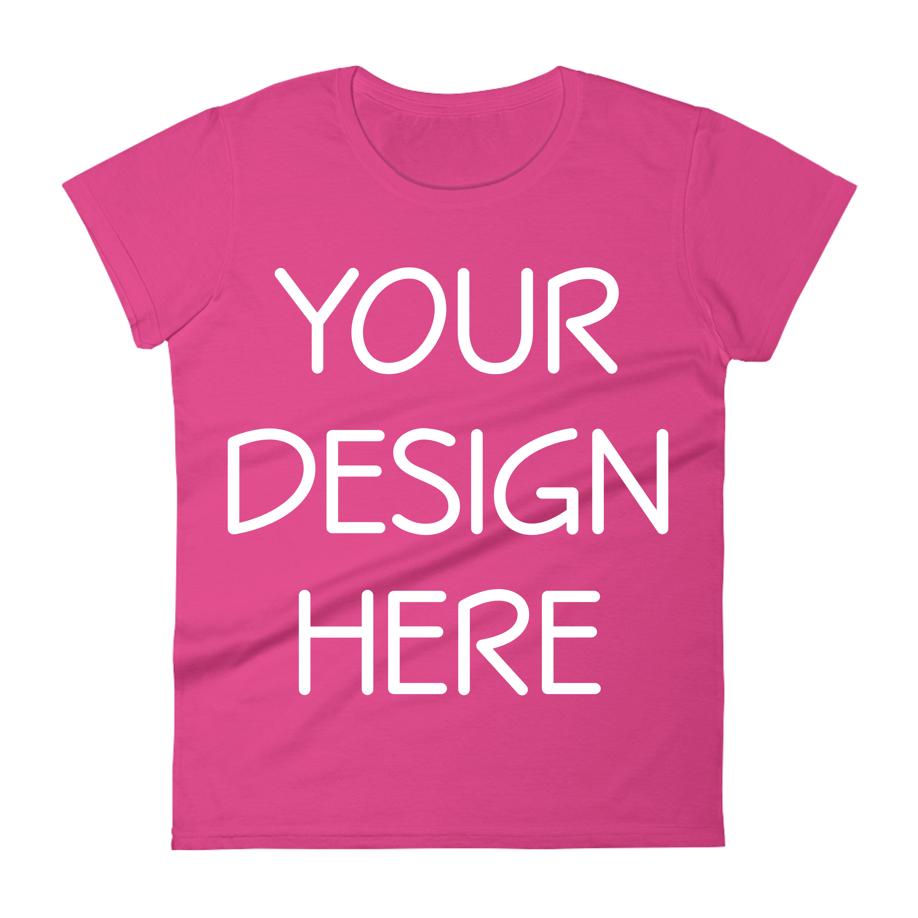 Anvil 880 Ladies Fit T-Shirt Mockups - 17 | PNG|3000x3000px example image 9