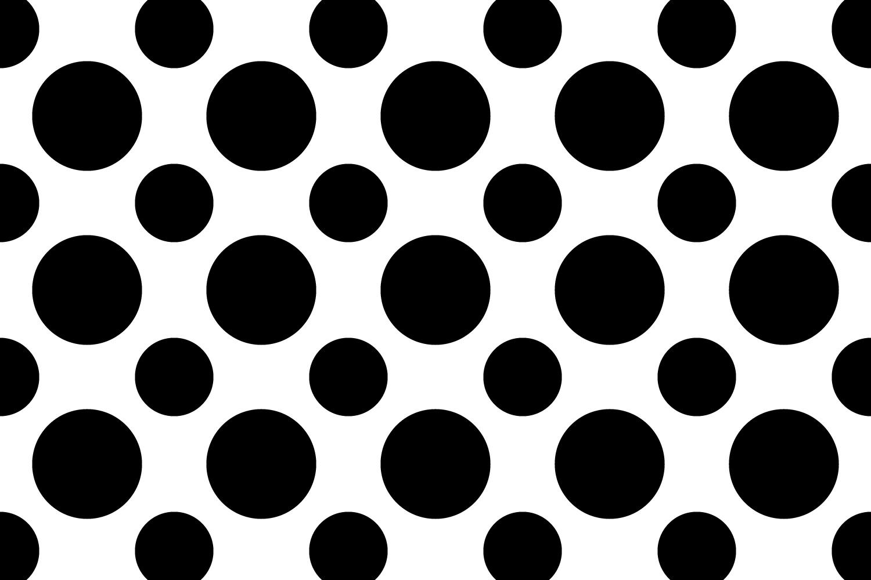 40 Seamless Circle Patterns (AI, EPS, JPG 5000x5000) example image 2