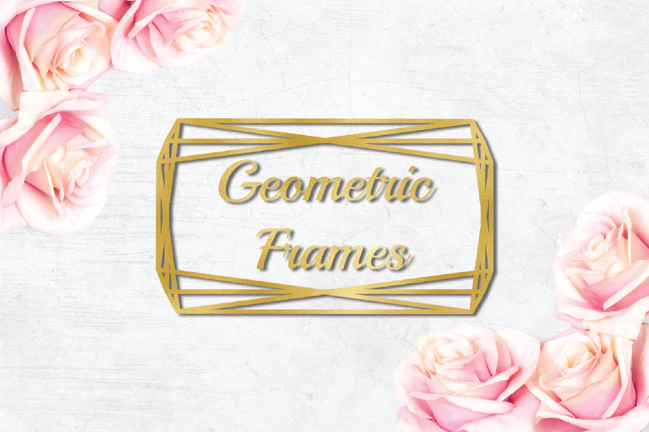 15 Geometric Frames example image 8
