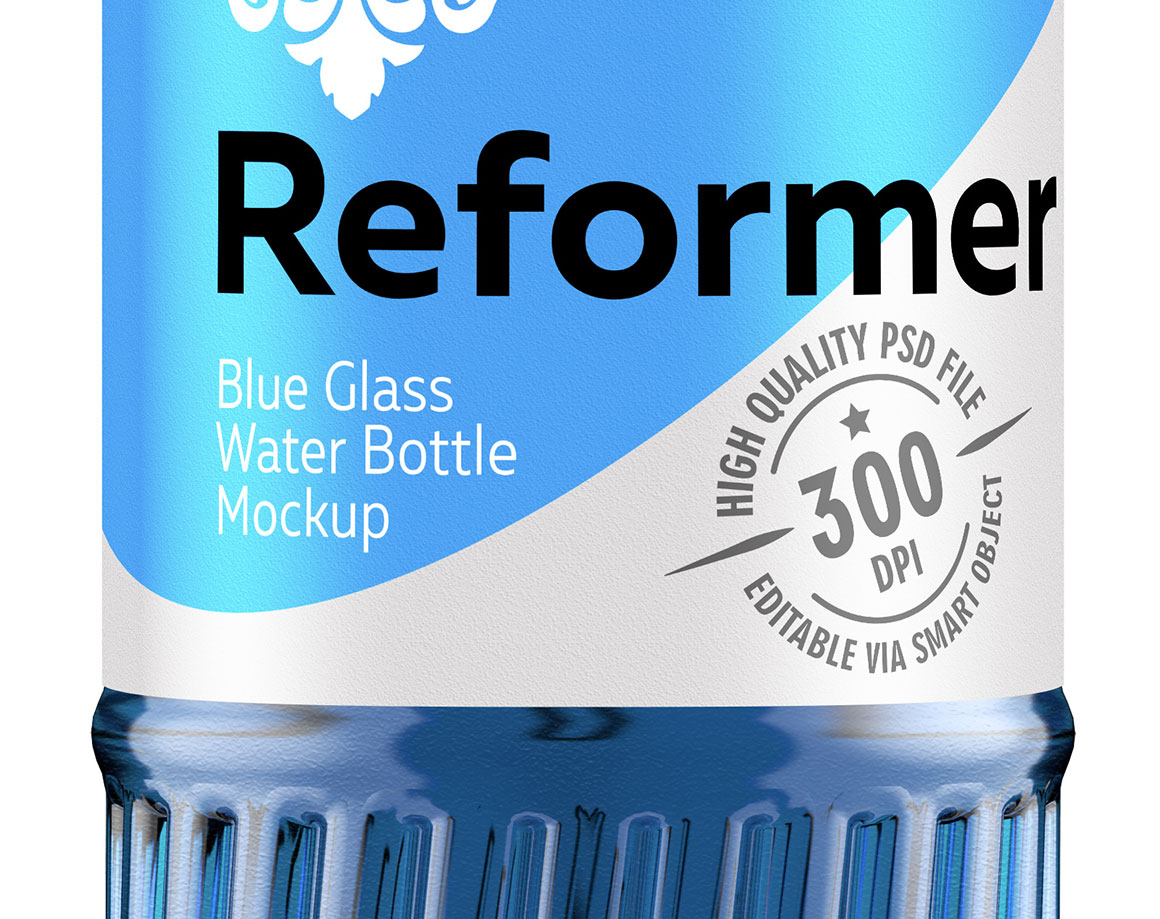 Water Bottle Mockup (4 files) + Poster example image 4