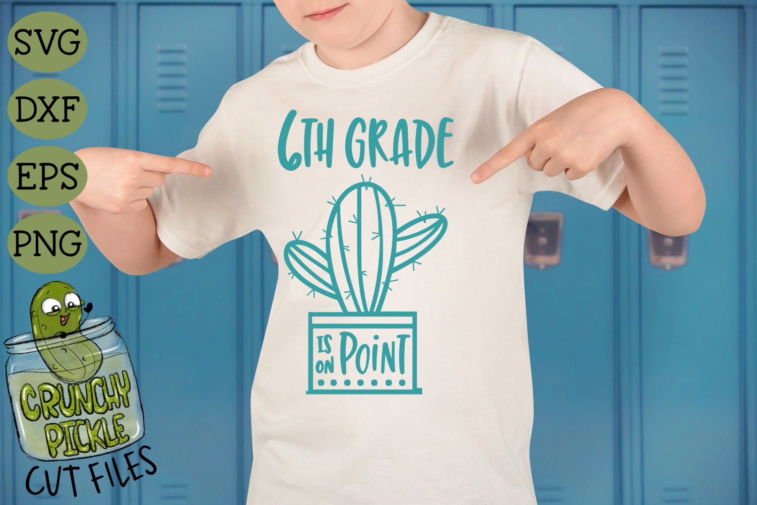 Cactus Middle School Grades on Point SVG example image 2