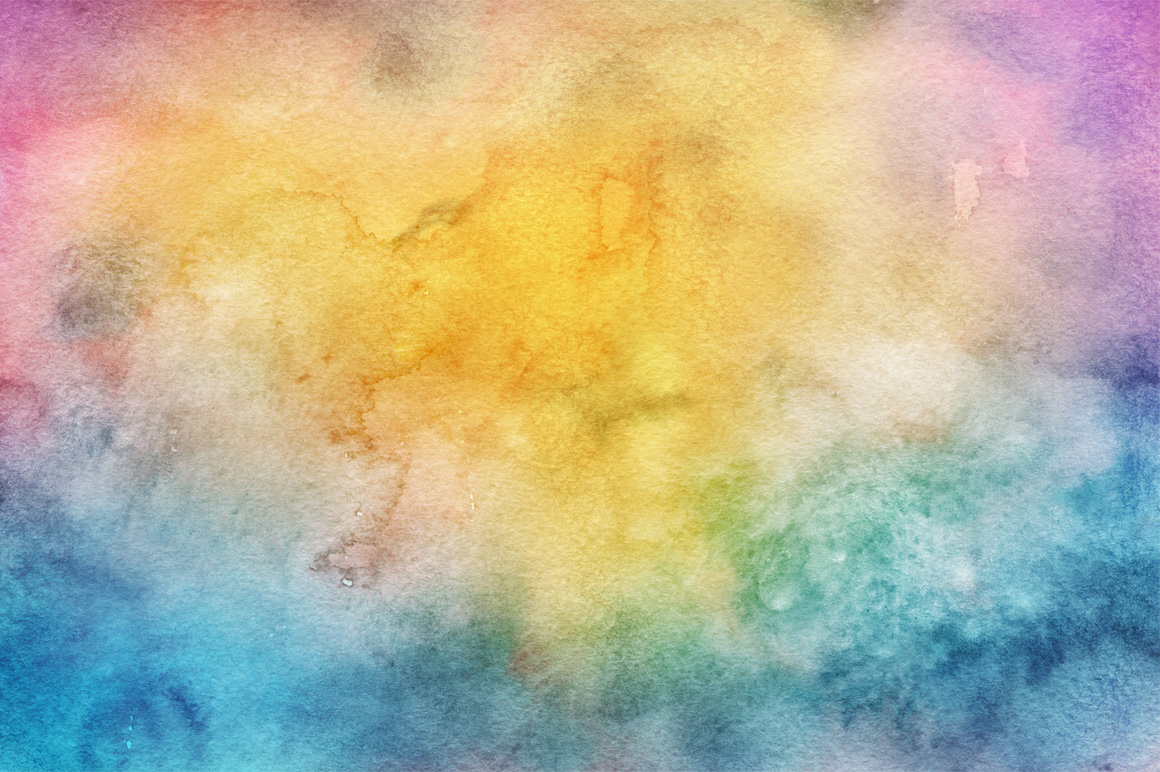 30 Hand Made Watercolor Backgrounds example image 5