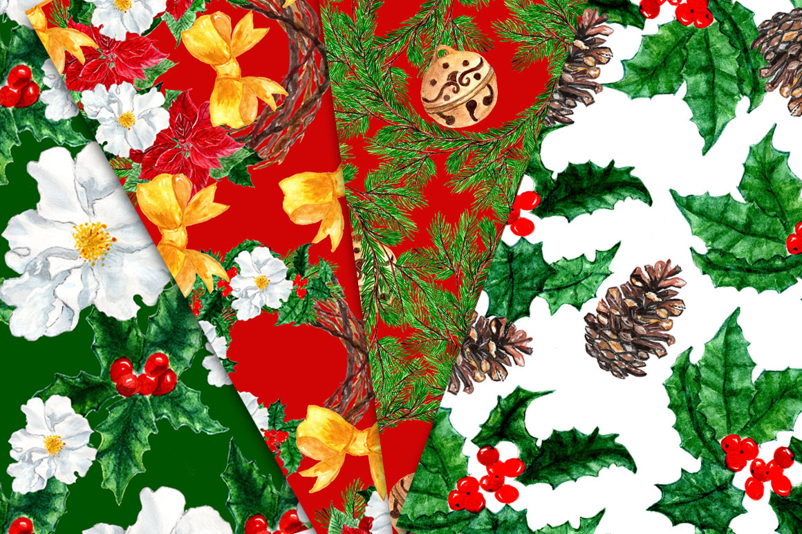 Christmas Clipart Collection example image 4