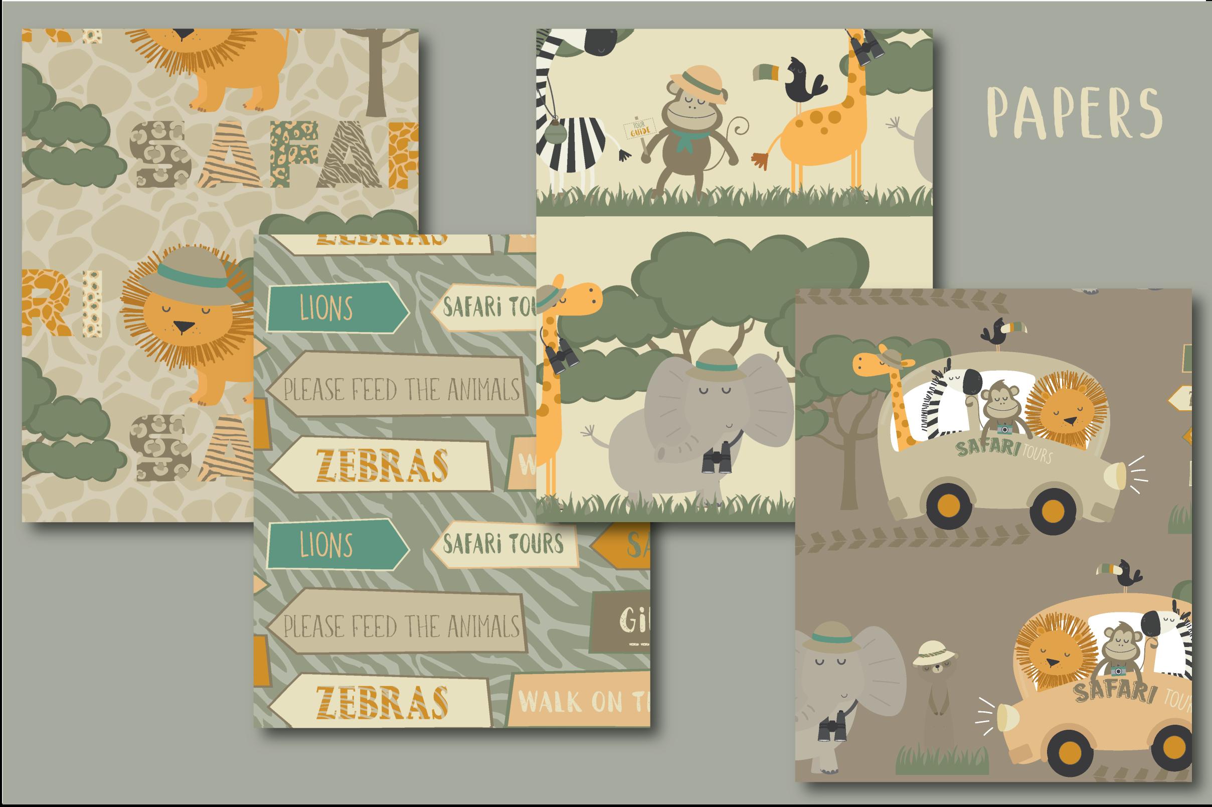 Safari tours set example image 5