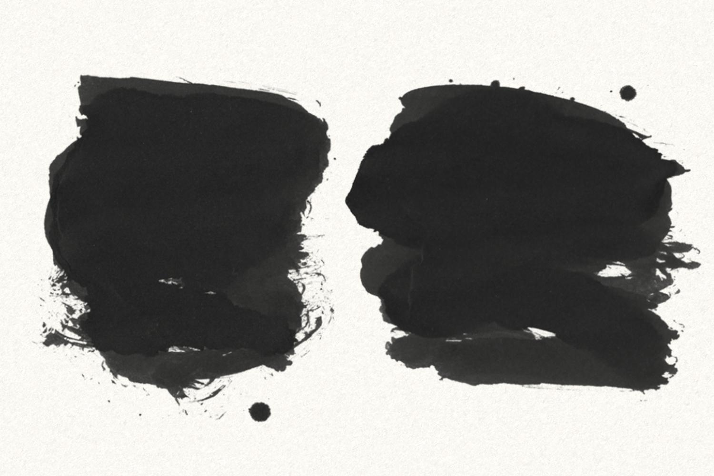 30 Gofe Ink Photoshop Brushes example image 4