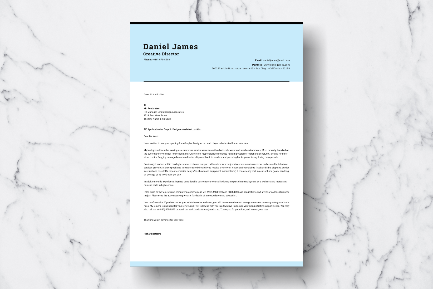 Resume Template Vol. 04 example image 3