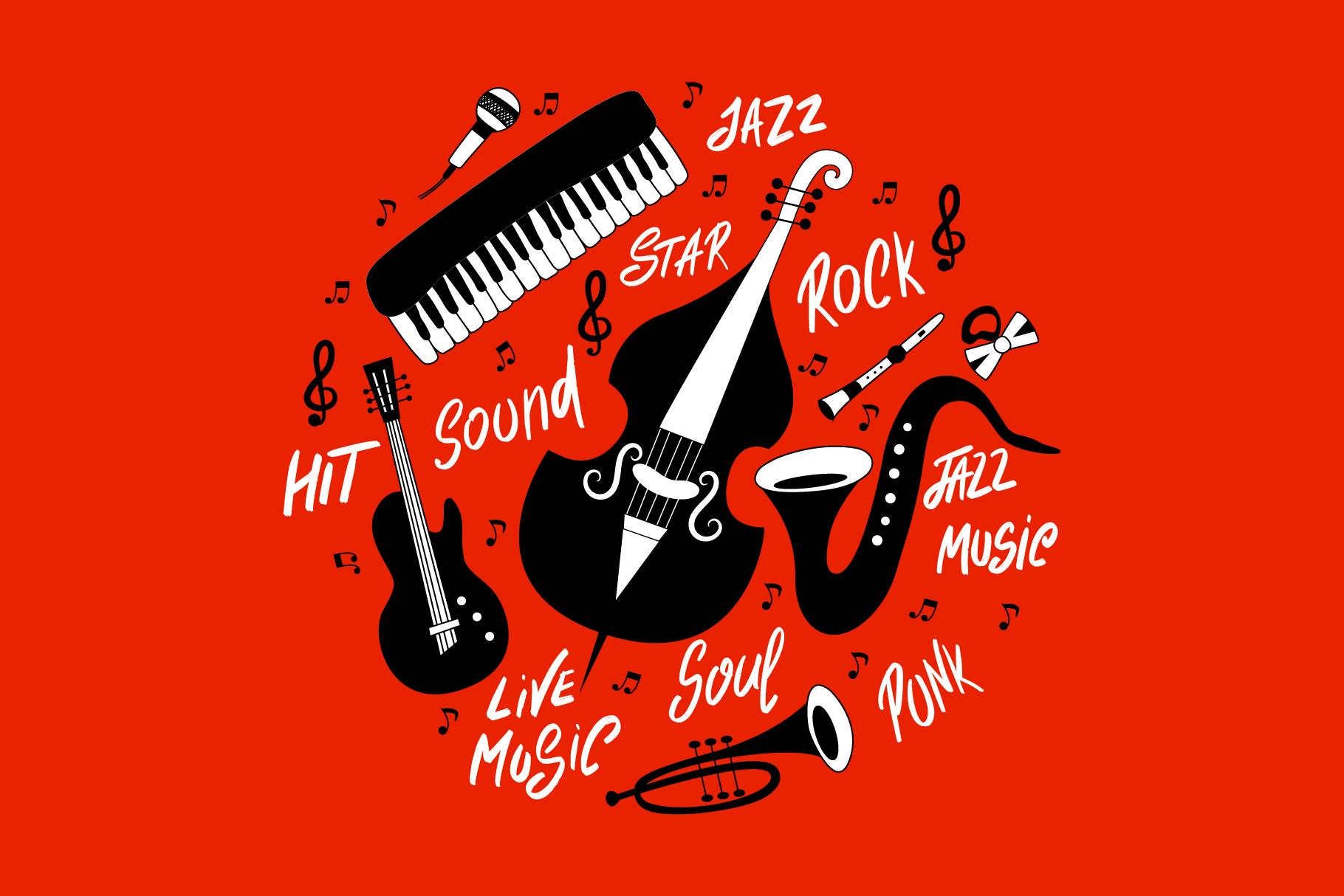 Modern jazz band example image 6