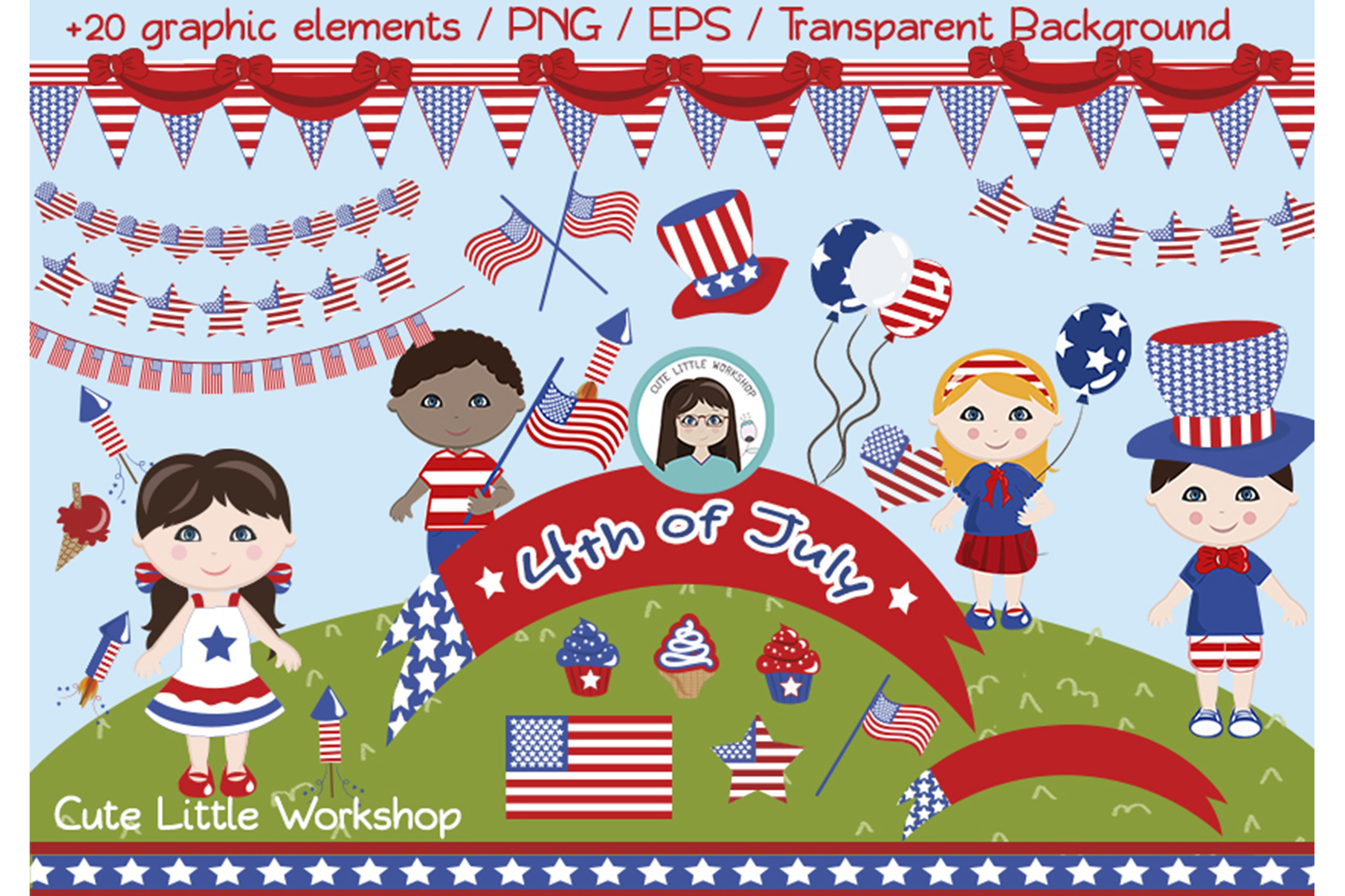 4th of July example image 1