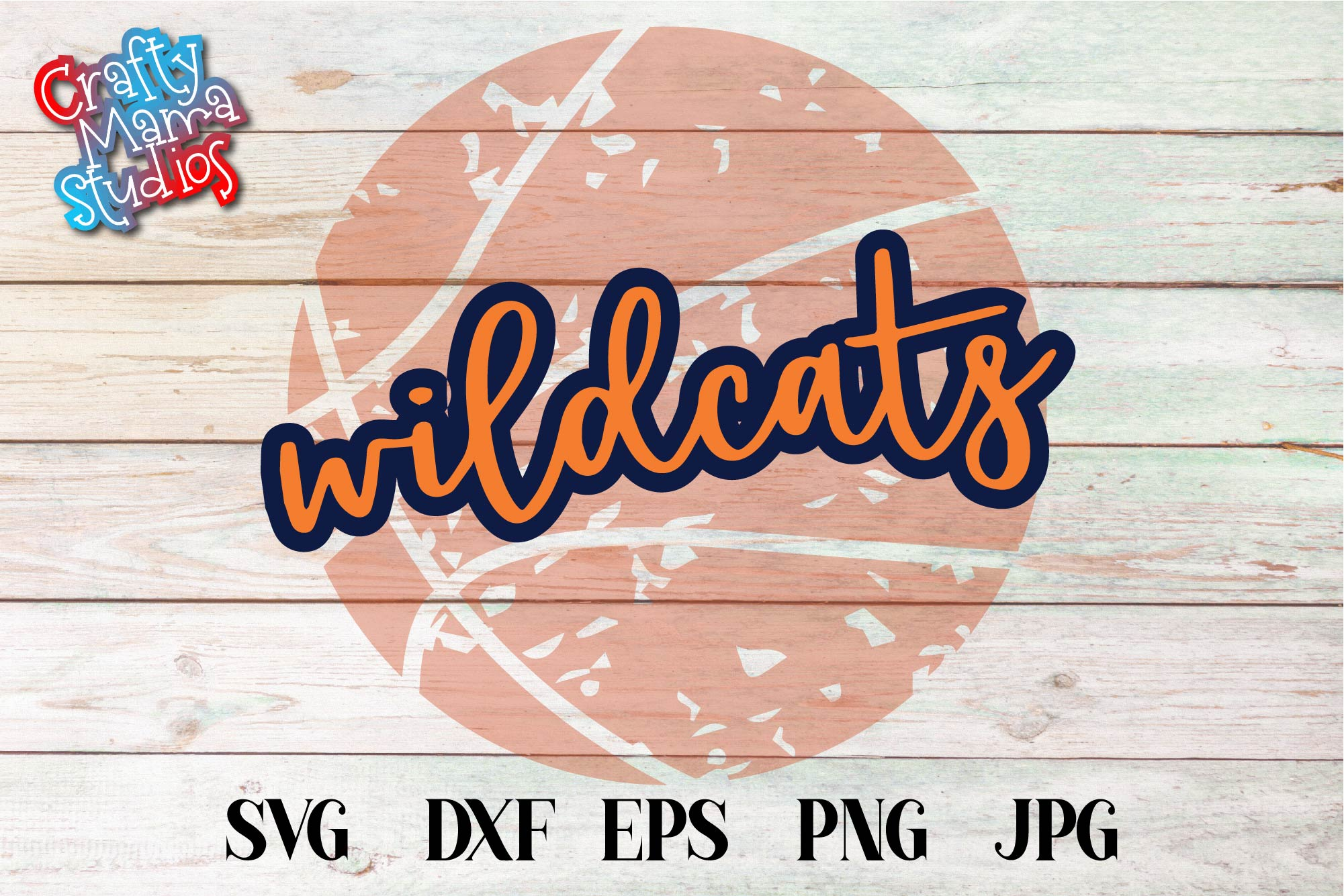 Sports SVG, Wildcats Basketball SVG, Sports Sublimation example image 2