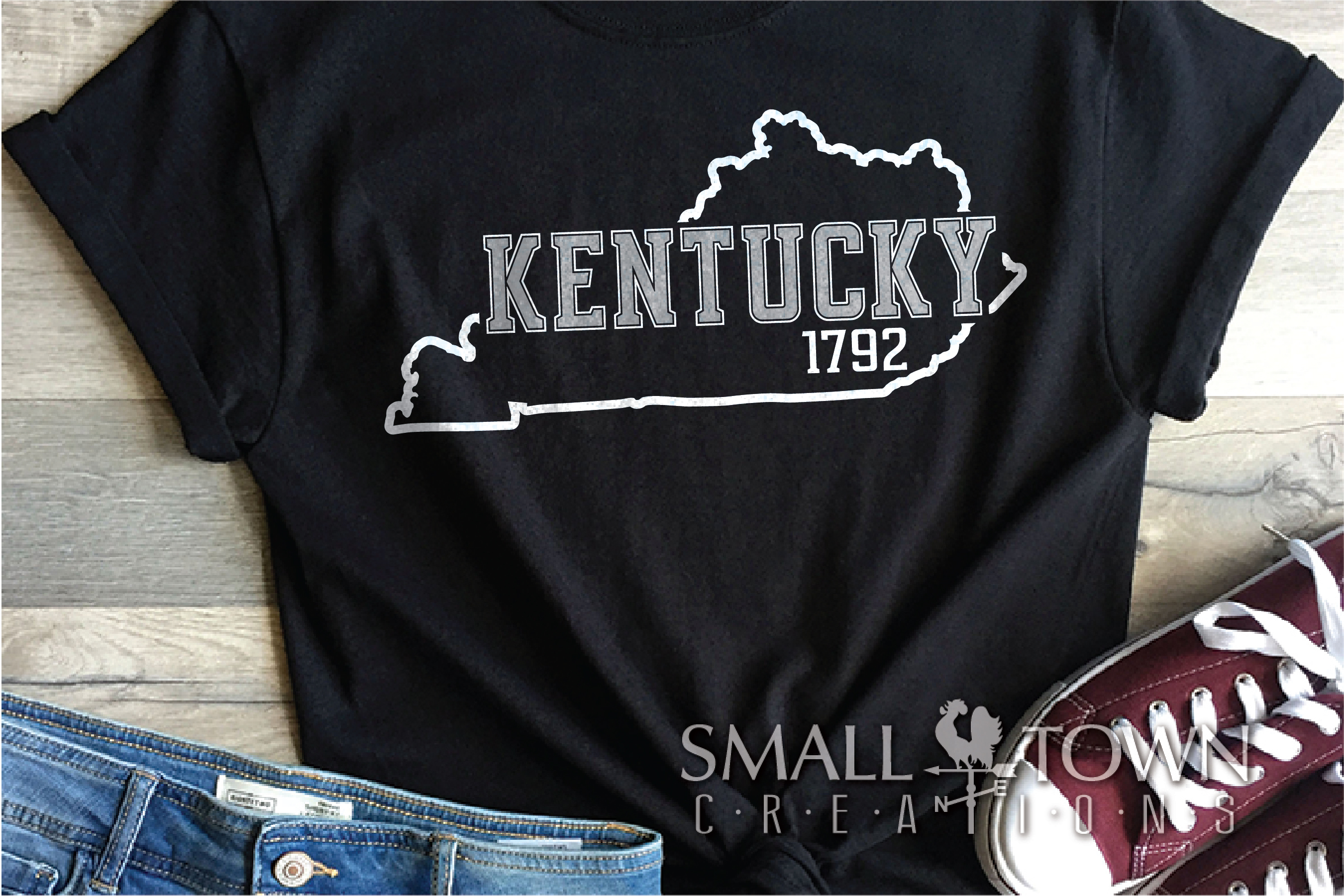 Kentucky, Bluegrass State-slogan, Logo, PRINT, CUT & DESIGN example image 4