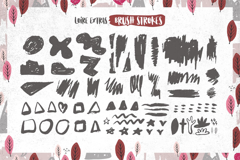 Loire Font Pack & Graphic Bundle example image 13