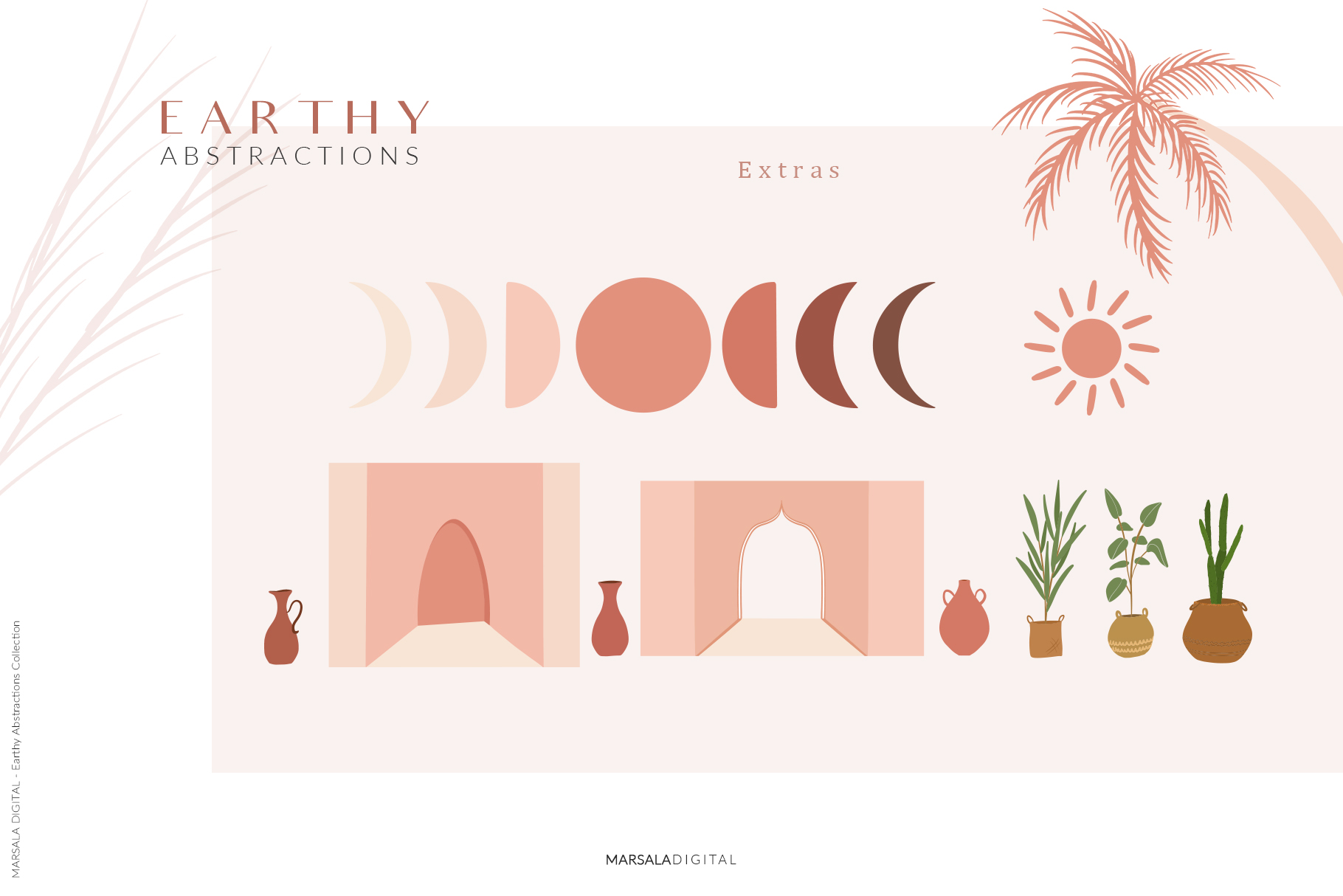 EARTHY Abstractions & Prints Celestial, Desert, Bohemian example image 11