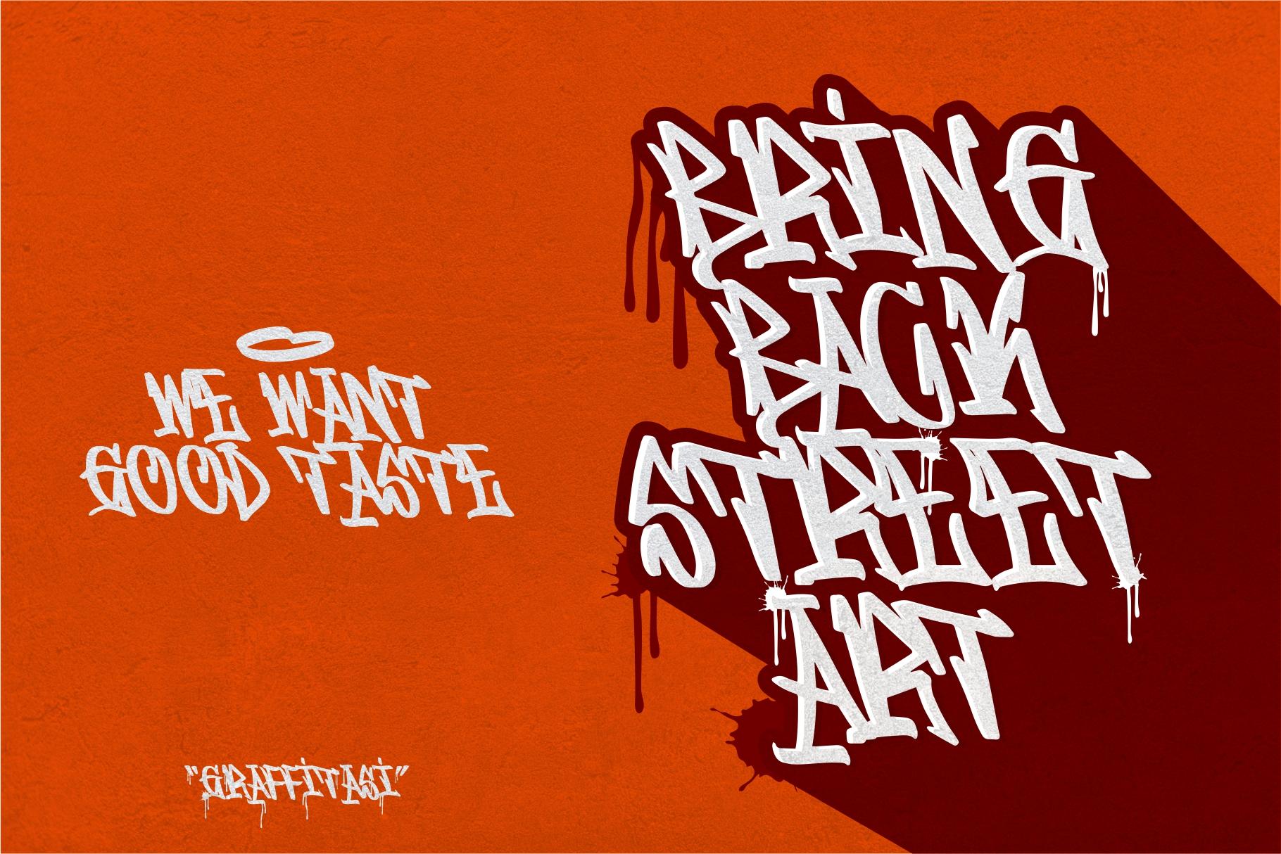 GRAFFITASI - Street Fonts example image 6