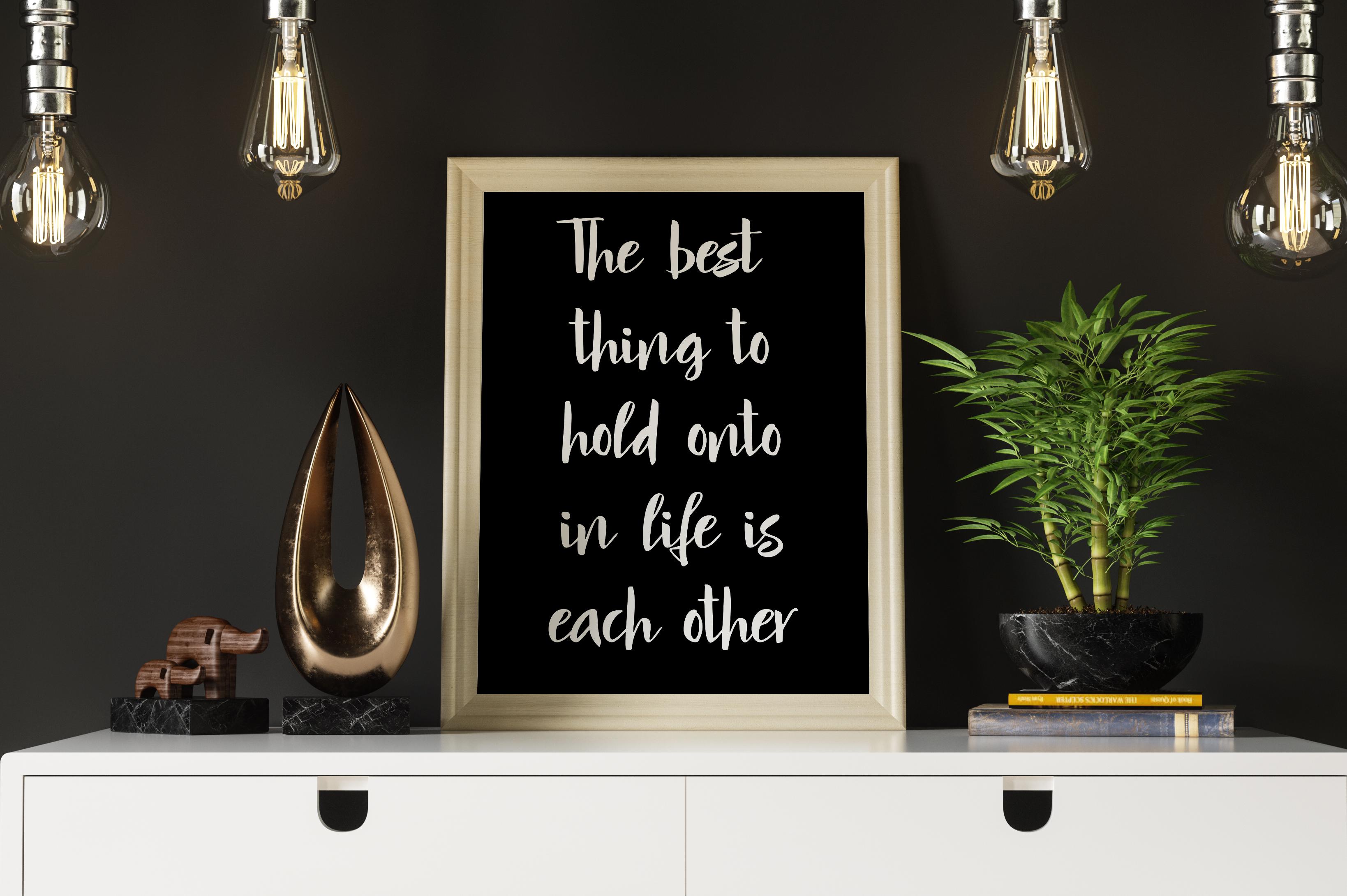 Mindfulness - handwritten font example image 13