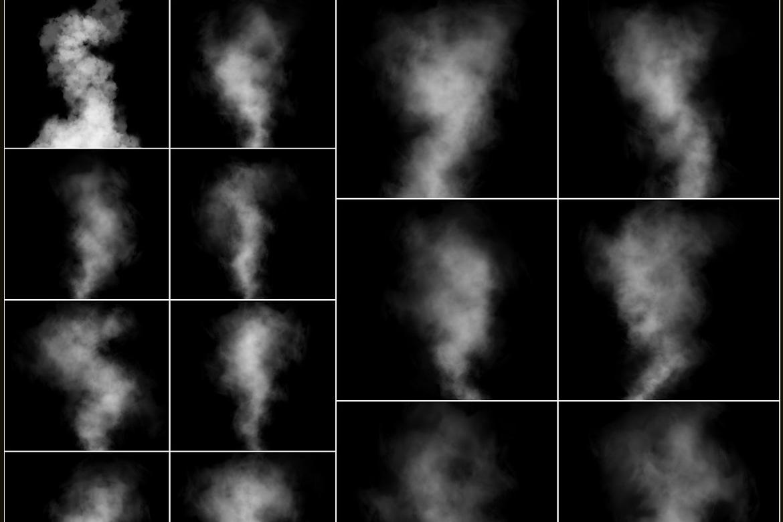 100 Cloudy Smoke Overlays example image 2
