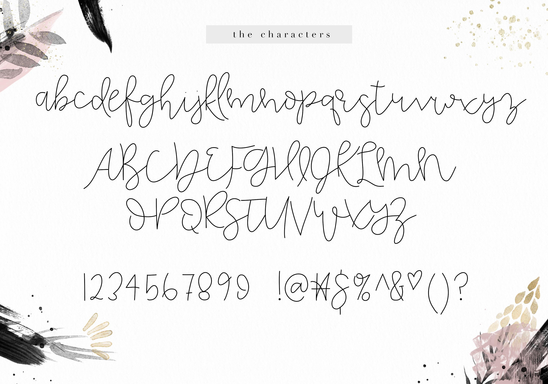 Honeydew - Handwritten Script Font example image 9