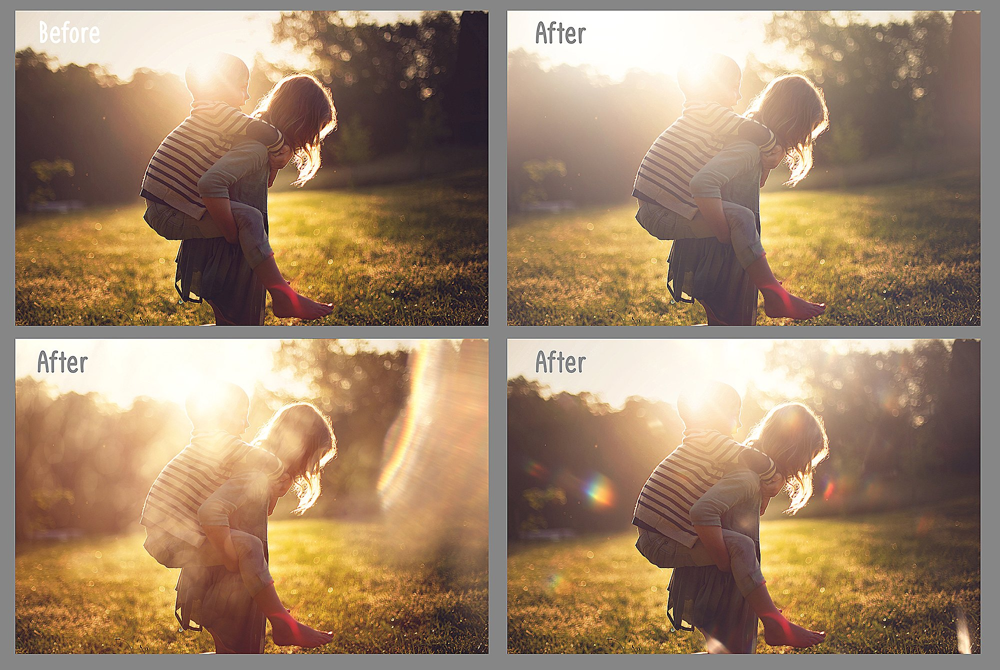100 Sun Flare and Haze Overlays example image 3