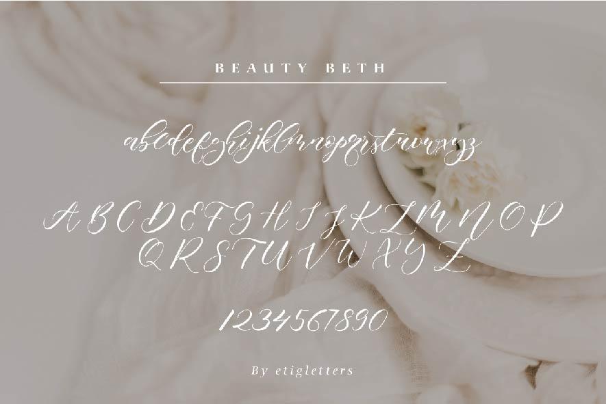 Beauty Beth example image 4