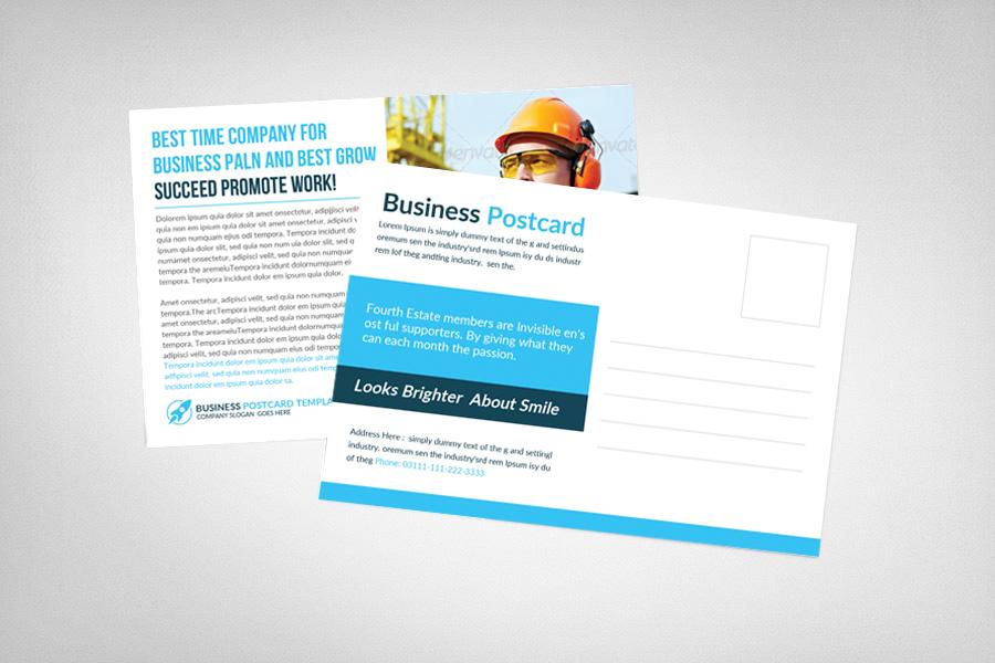 Multiuse Business Postcard Template example image 2