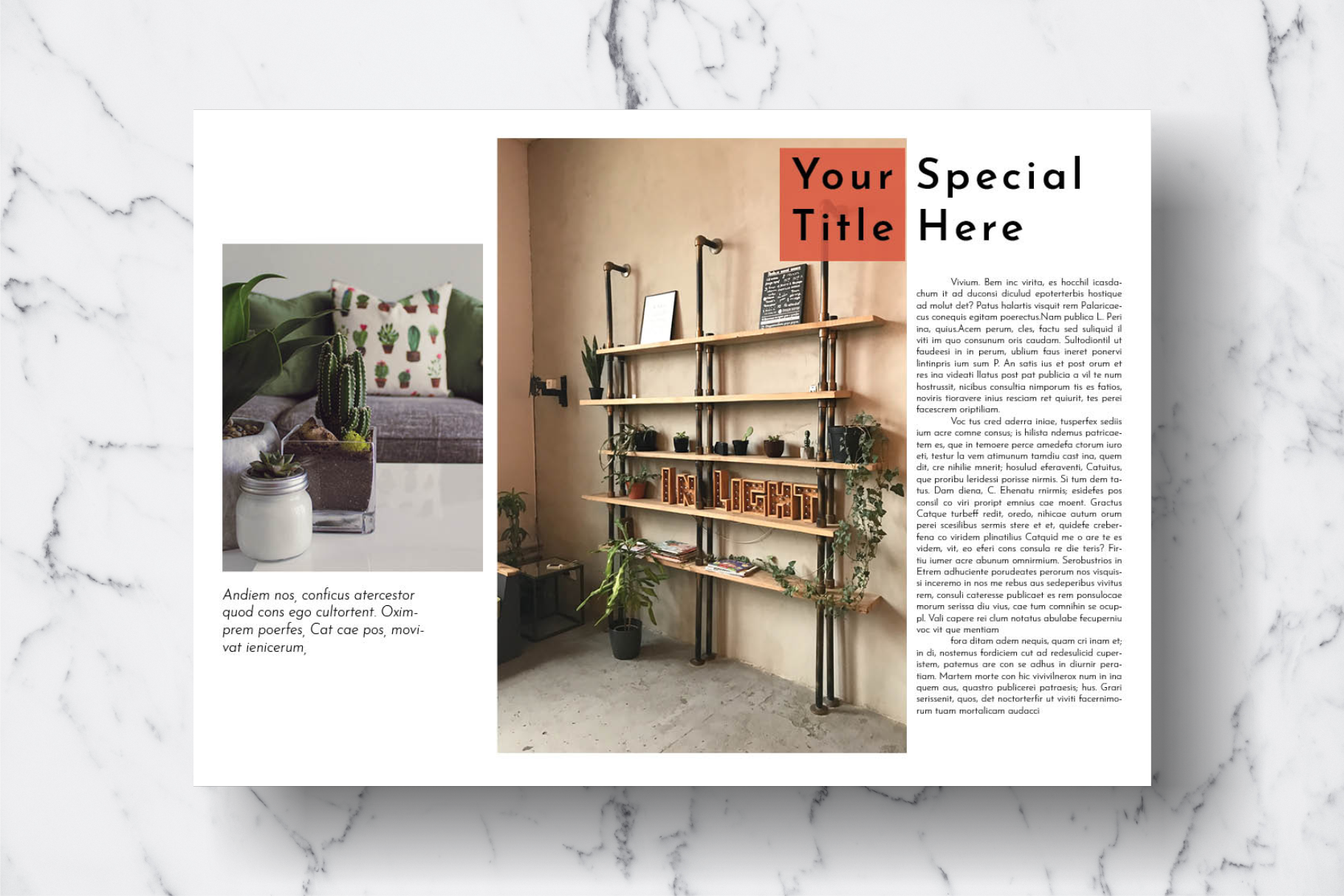 Magazine Template Vol. 16 example image 8