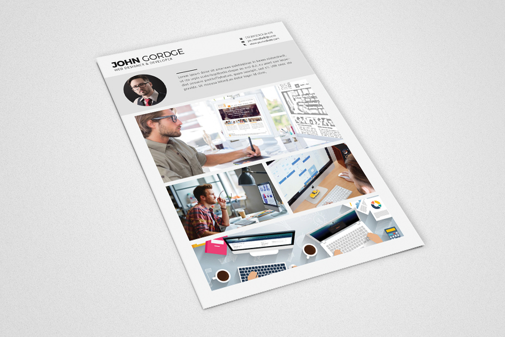 Cv Resume Office Templates example image 4