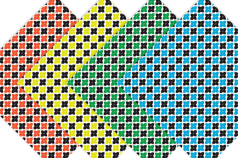 Moroccan Rainbow Digital Paper example image 3