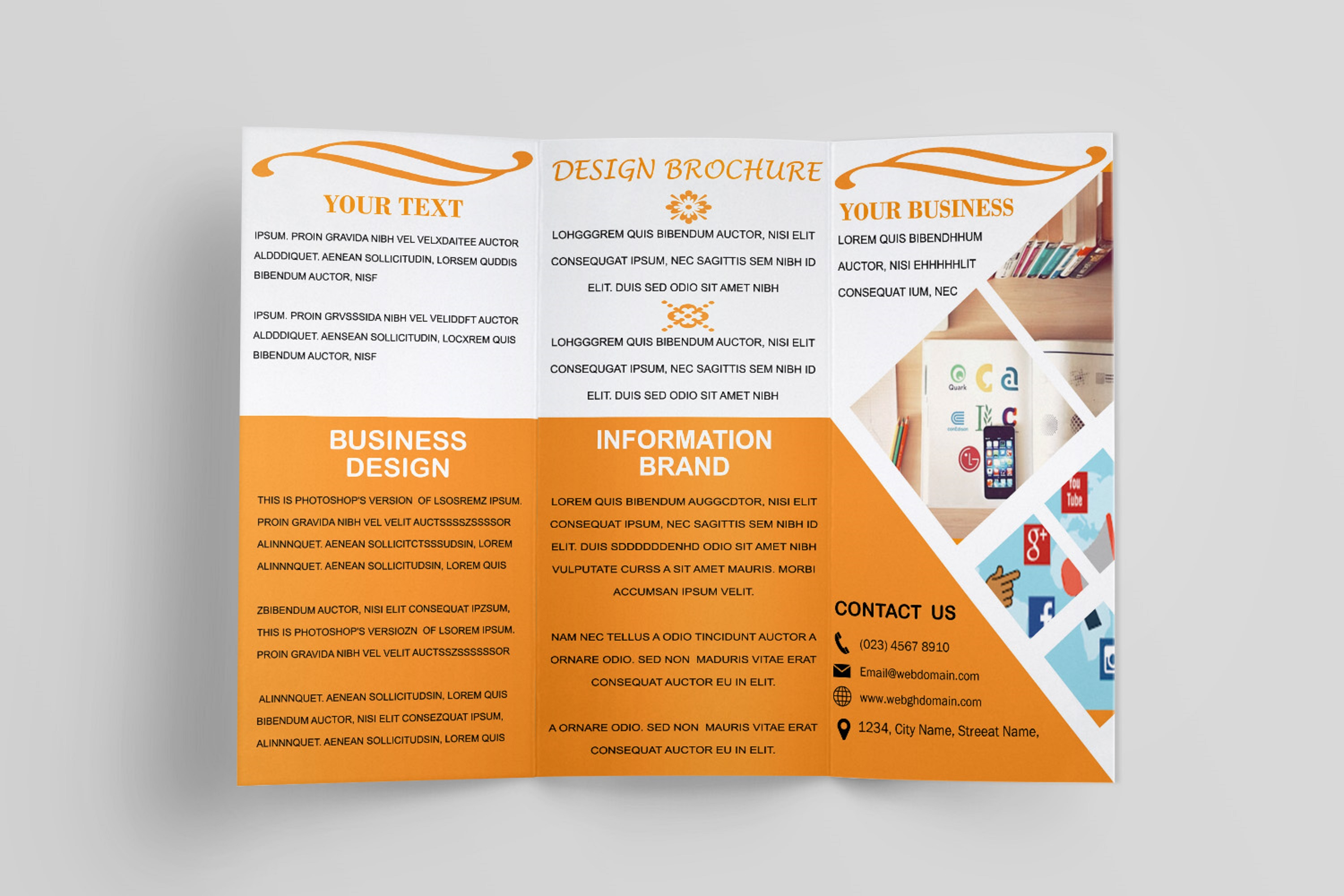 Trifold Brochure Template example image 6
