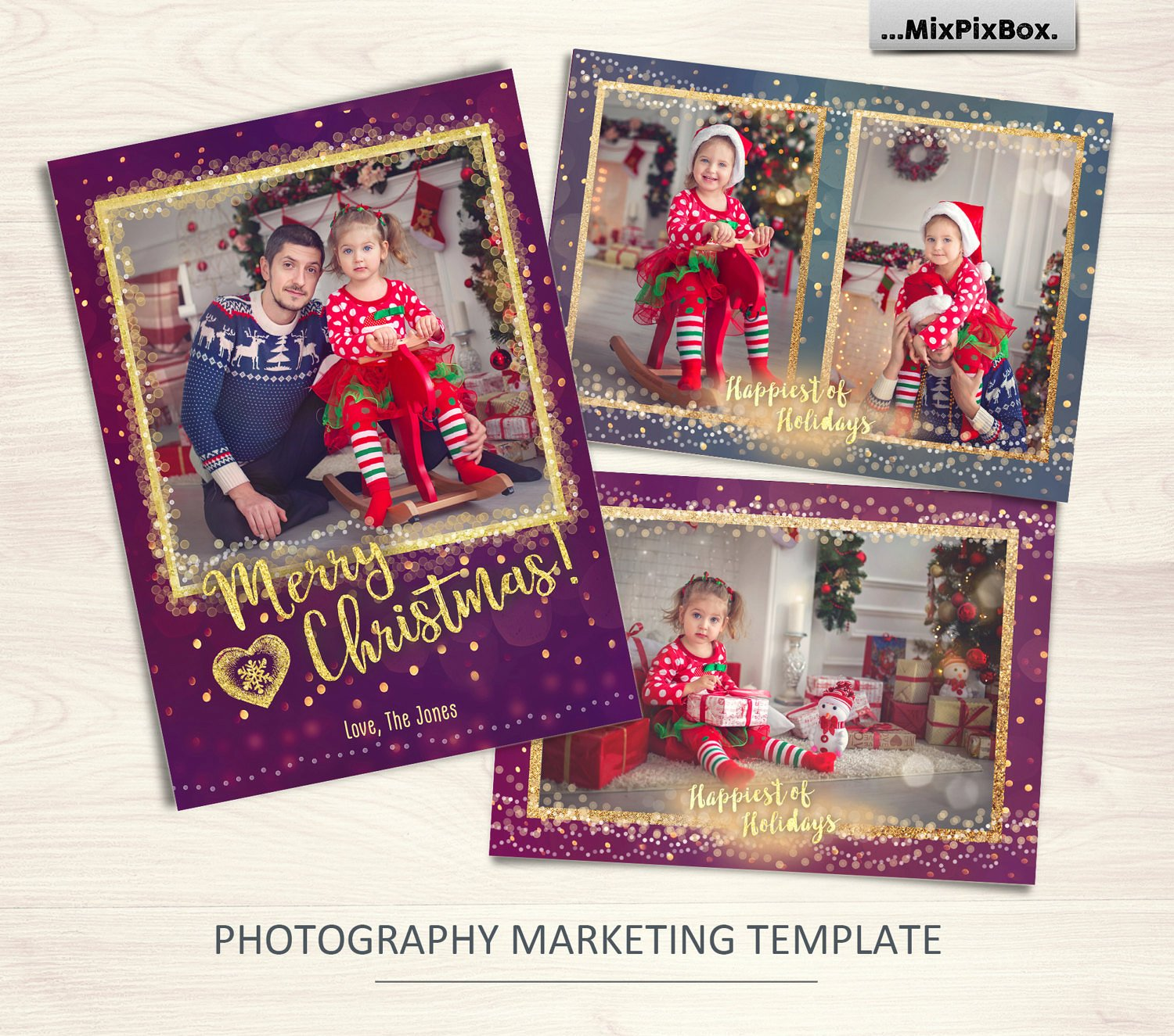 Christmas Card Template example image 1