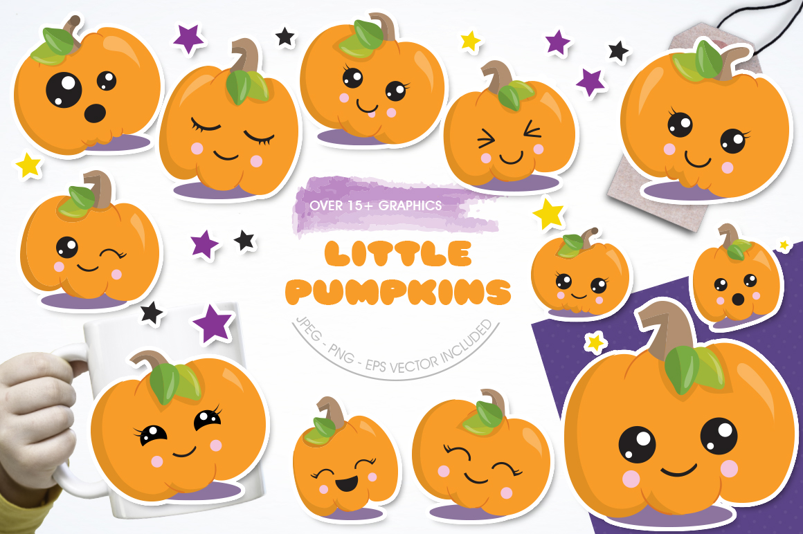 Little Pumpkin graphic and illustrations example image 1