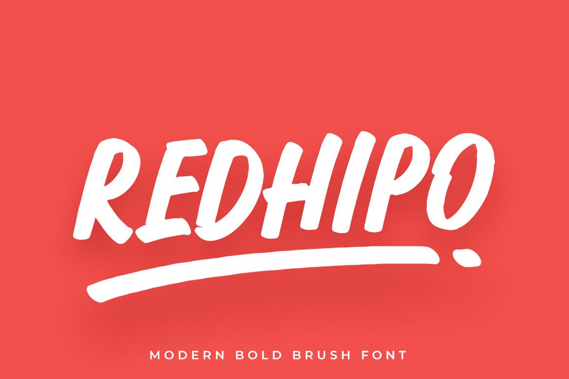 Redhipo Modern Brush example image 1